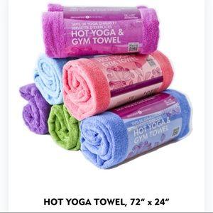 NWOT Zenzation Athletics Hot Yoga Microfiber Towel